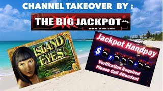 $50/Spin Island Eyes Jackpot Hand Pay ! 💣 The Big Jackpot 💣 Channel Takeover ! thumbnail
