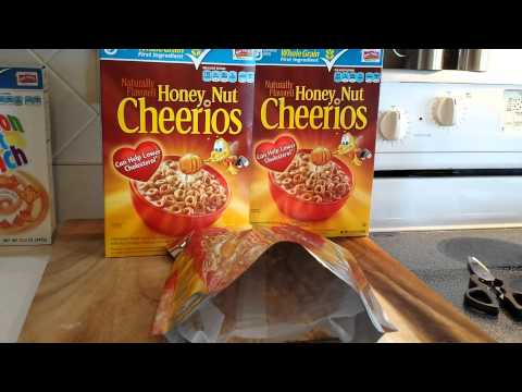 Tips on Storing Cereal Long Term for Preppers! :)