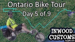 St Thomas to Alvinston - Rural Ontario Bike Tour - Day 5 of 9