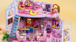 How to make a dollhouse. today, i show diy miniature dollhouse with ~ belle (beauty and the beast) room decor   miniatures donate me : https://...