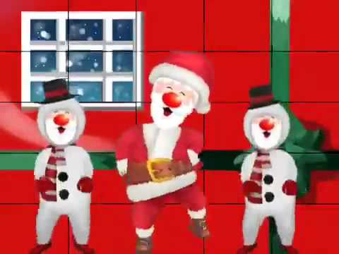 Jingle bell song but Santa dancing gangnam style MUST WATCH