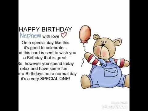 Happy 1st Birthday My Nephew Youtube
