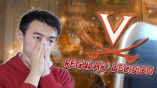 MY UNIVERSITY OF VIRGINIA DECISION REACTION! (Regular Decision) | Waddle's College Decision 2019! thumbnail
