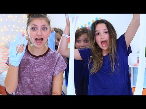 Not My Arms Slime Challenge with Kamri Noel | Annie LeBlanc
