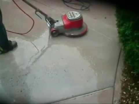Concrete floor grinder   YouTube Concrete floor grinder