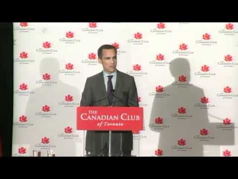2012-05-01 Canadian of the Year Award - Mark Carney