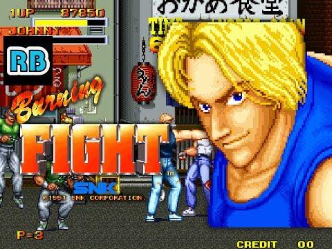 1991 [60fps] Burning Fight Duke ALL