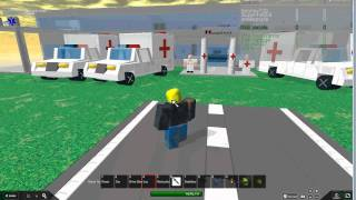 Going to a bad hospital on ROBLOX