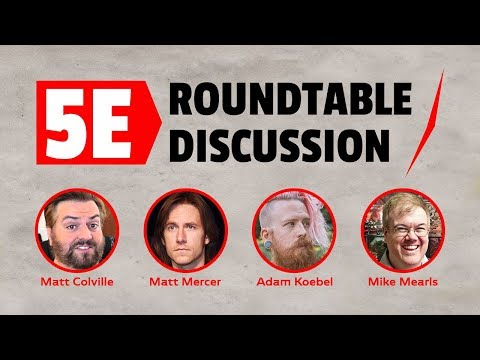 RollPlay Presents: a 5E Roundtable Discussion