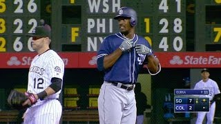 SD@COL: Blash smacks a double for first career hit