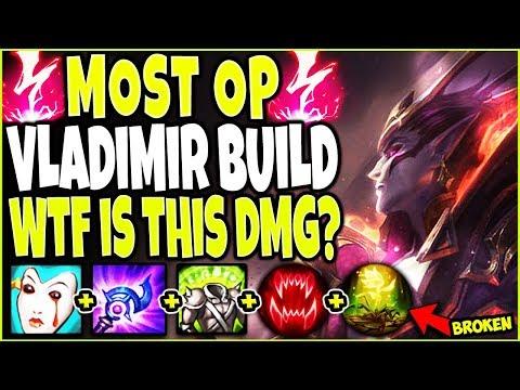 MOST OP VLADIMIR SEASON 10 BUILD 🧛 BEYOND BROKEN 🧛 Best LoL TOP Nightbringer Vladimir s10 Gameplay