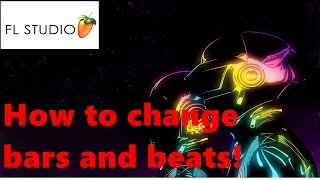 FL Studio 11 - Change Bar and Beat!