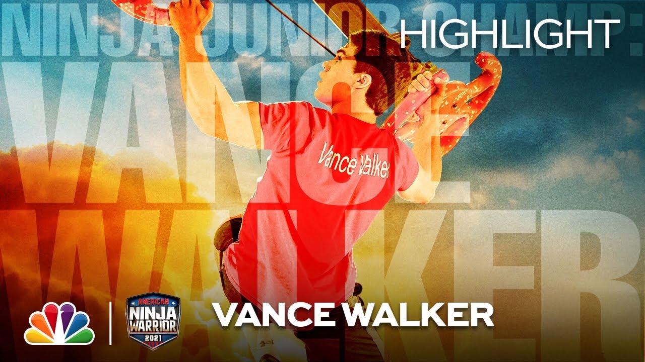Download Junior Ninja Champion Vance Walker Is in the Big Leagues - American Ninja Warrior