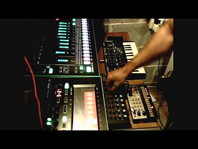 BGR - (live) Deep House n Deep Techno Jam Session - Korg Roland