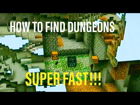 How To Find Dungeons In Four Steps Minecraft 1 15 Actually Works Youtube