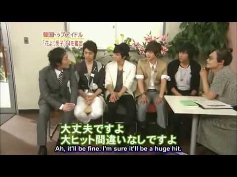 Hyun Joong, Kim Bum, Kim Jun, Min Ho Interview - Japan
