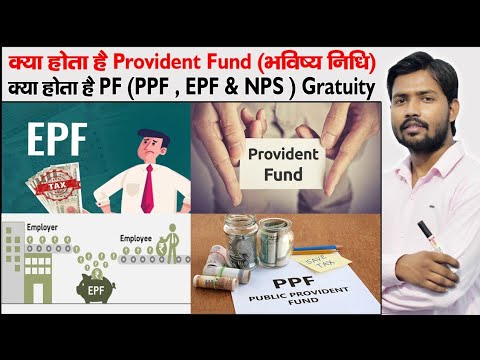 Download PF Account | PPE , EPF and NPS | GPF and VPF | Provident Fund | Gratuity | Types of PF Account |