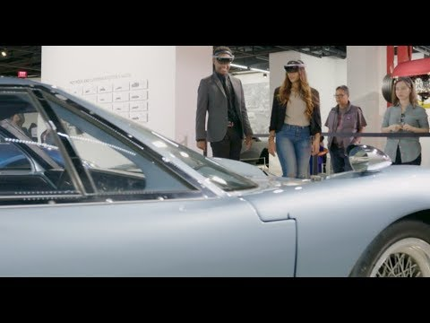 Driving deeper engagement with Windows: Petersen Automotive Museum