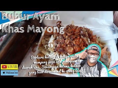 Bubur Ayam Khas Mayong   Kuliner Wajib Coba Di Kelapa Gading
