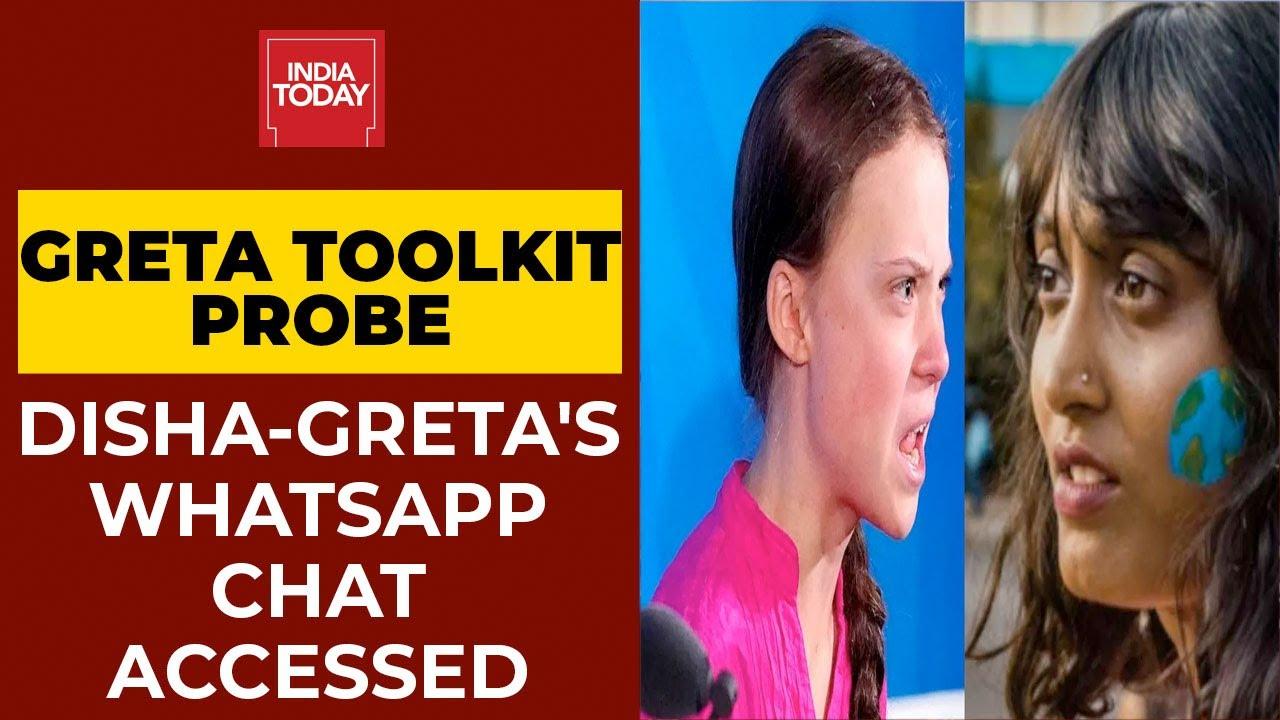 Download Greta Toolkit Probe: Chats Between Disha Ravi & Greta Thunberg Accessed | Arvind Ojha's Report