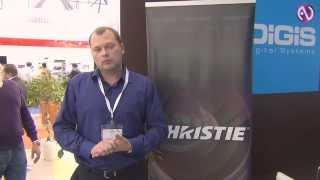 Christie: MicroTiles и проекторы Roadster на выставке ISR 2013(На стенде DIGIS на выставке ISR 2013 были представлены дисплейные модули Christie MicroTiles для создания систем Digital Signage..., 2013-12-17T09:16:33.000Z)