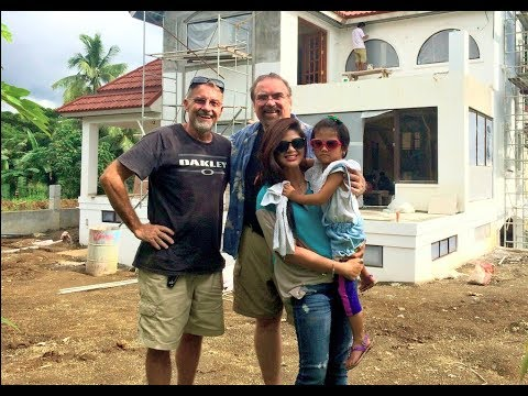 VILLA FELIZ - EPISODE 249: ALMOST A GREAT GREAT ROOM (House Building in the Philippines)