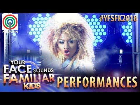 Your Face Sounds Familiar Kids 2018: Noel Comia Jr. as Tina Turner   What's Love Got To Do With It