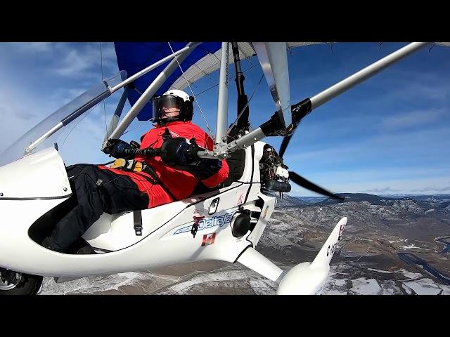 335. Flying to Tobiano, Walhachin and Cache Creek. Good Turbulence, Feb 21, 2021