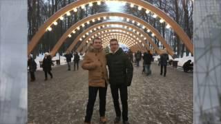 Прогулка в Москве, январь 2017