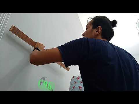 tehnik-5-menit-cara-pasang-rak-dinding-(-floating-shelf-)