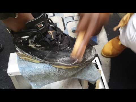 HOW TO CLEAN Defining Moment Package 6 Deep Cleaning live at mall by Cnyce Gucci SHOE MGK
