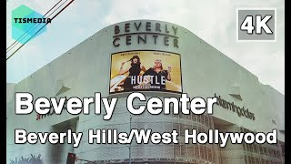 Walking around Beverly Center【4K】Beverly Hills/West Hollywood, Los Angeles, California