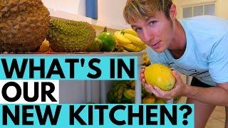 Fruitarian Minimalist Kitchen Tour // What's in Our Kitchen?