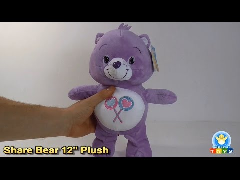"Share Bear 12"" Plush Toy Review (Care Bears)"