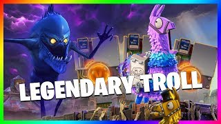 FORTNITE - PACK OPENING LEGENDARY TROLL