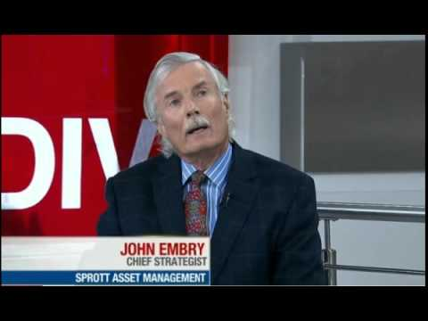 John Embry discusses Gold price in current environment