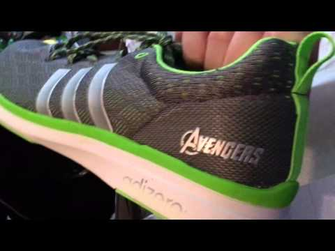 3a134418f303d1 Quicksilver s Shoes! Adidas Adizero Feather 4 Avengers Edition ...