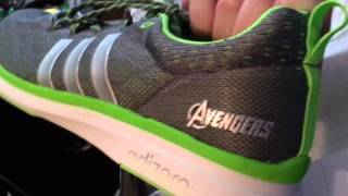 popular multitud imitar  Quicksilver's Shoes! Adidas Adizero Feather 4 Avengers Edition Unboxing -  YouTube
