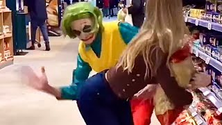 The Ninja Boy Was Shocked To See Me | Viral Russian Fitness Girl Samka Tiktok Videos @Fitness Samka