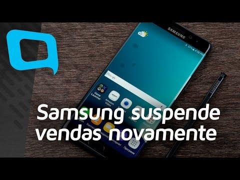 Samsung pede para que desliguem e não usem o Note 7 - Hoje no TecMundo