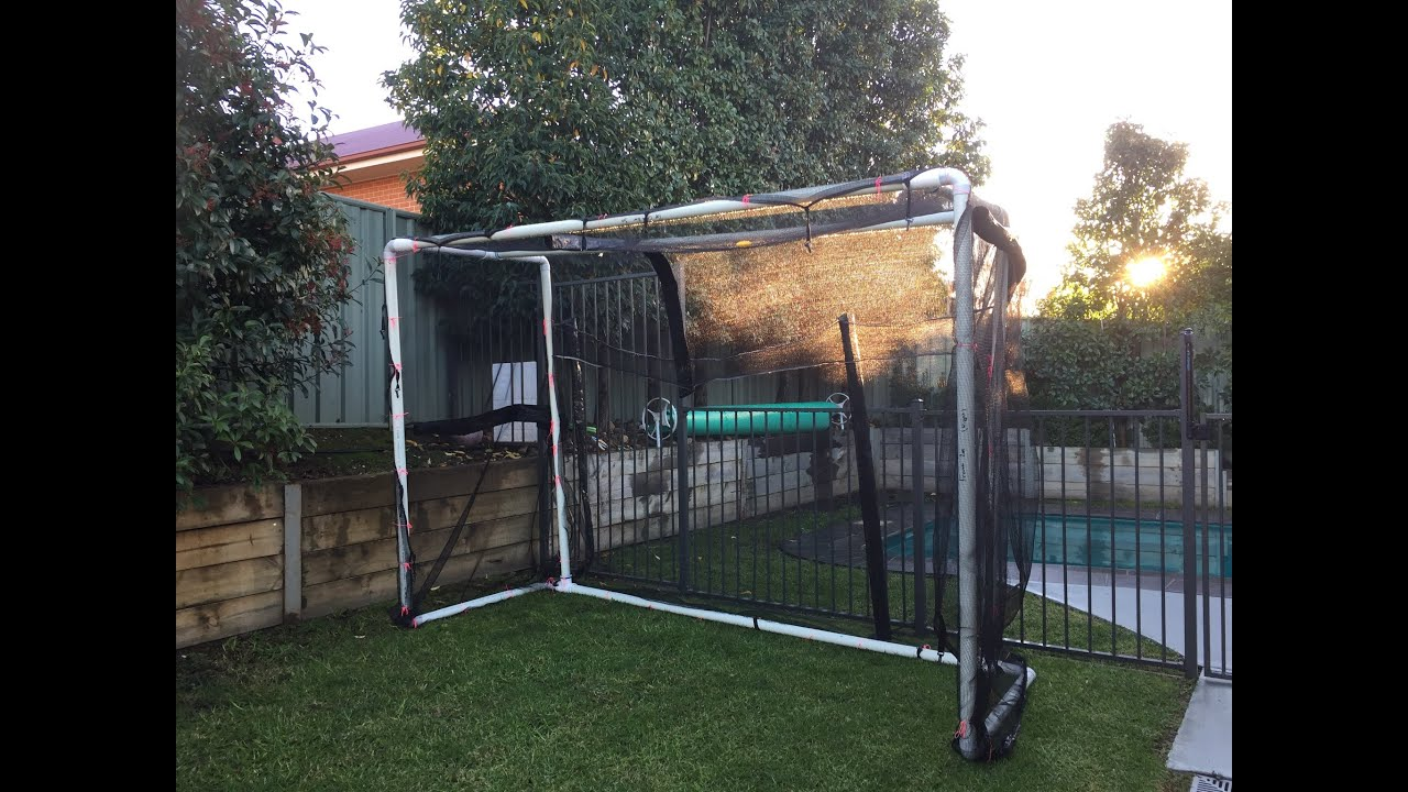 how to build a soccer goals for less then 125 youtube