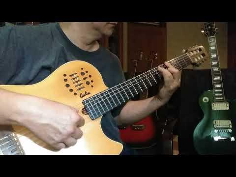 Hidup Ini Adalah Kesempatan - Solo Guitar - Godin MultiAc