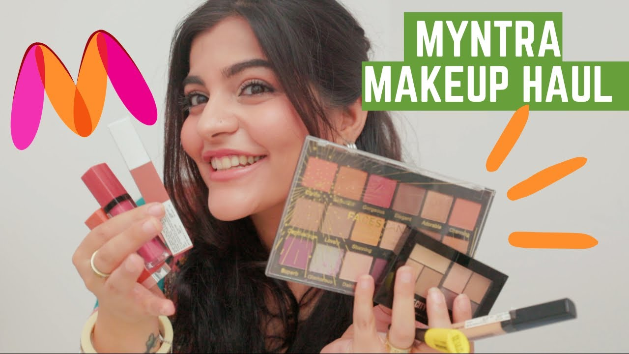 Myntra makeup haul 💄Should you buy this or not?