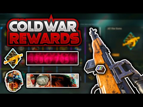 All Free Black Ops Cold War Warzone Event Rewards Emblem Calling Card Charm And Blue Print Youtube