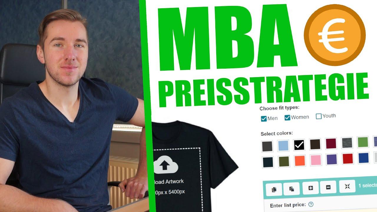 Meine Preisstrategie für Merch By Amazon | Meine T-Shirt Business Erfahrungen