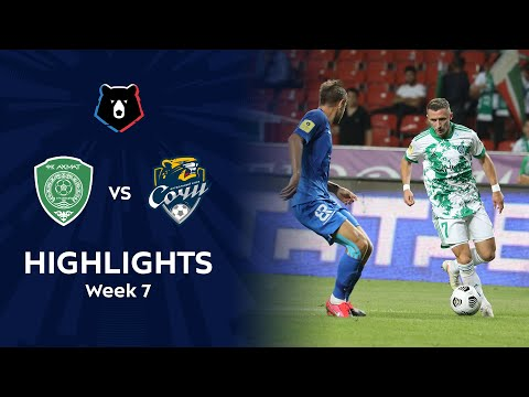 Akhmat Grozny Sochi Goals And Highlights