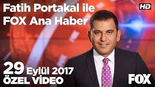 Zengin de dar gelirli de aynı vergiyi ödüyor... 29 Eylül 2017 Fatih Portakal ile FOX Ana Haber