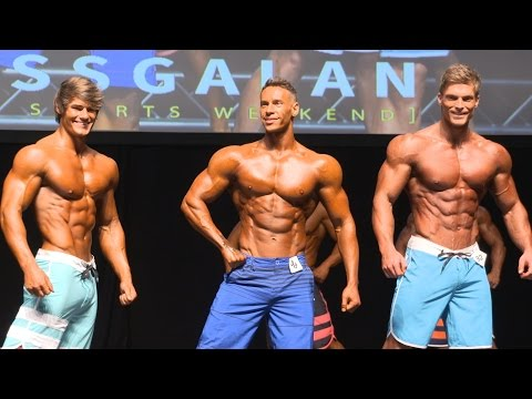 Men`s Physique Pros full video (HD)