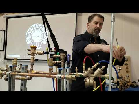 ASSE 1013 Testing Procedures With A 3 Valve Test Kit