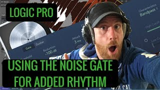 Sidechain Noise Gate Logic - How to Gate with a Sidechain Logic Pro tutorial